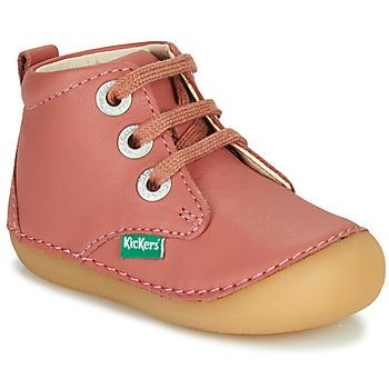 Skor Flickor Boots Kickers SONIZA Rosa