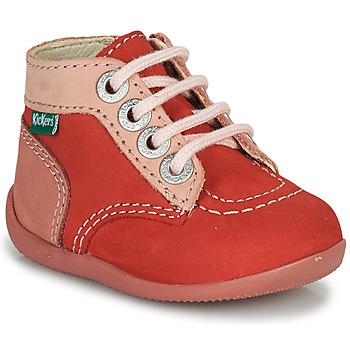 Skor Flickor Boots Kickers BONZIP-2 Rosa