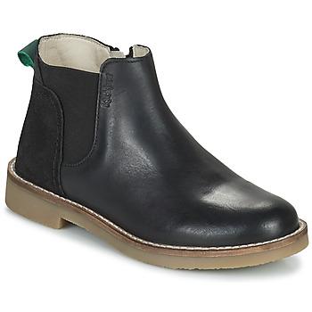 Skor Flickor Boots Kickers NY KICK Svart