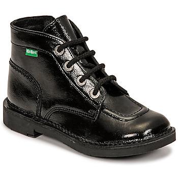 Skor Flickor Boots Kickers KICK COLZ Svart