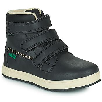 Skor Barn Boots Kickers YEPOKRO WPF Svart