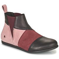 Skor Dam Boots Art LARISSA Violett / Svart