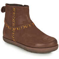 Skor Dam Boots Art RHODES Brun