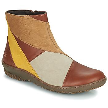 Skor Dam Boots Art ANTIBES Brun
