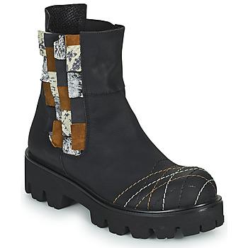 Skor Dam Boots Papucei WELS Svart