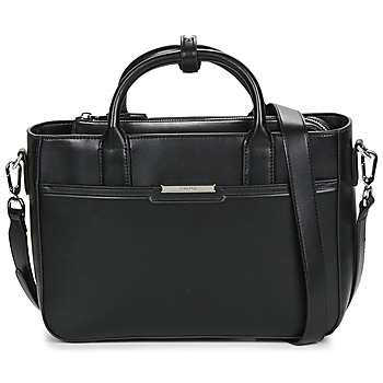 Väskor Dam Handväskor med kort rem Calvin Klein Jeans FOCUSED TOTE MD Svart