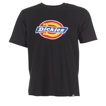 textil Herr T-shirts Dickies HORSESHOE Svart