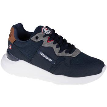 Skor Herr Sneakers Geographical Norway Shoes Bleu marine