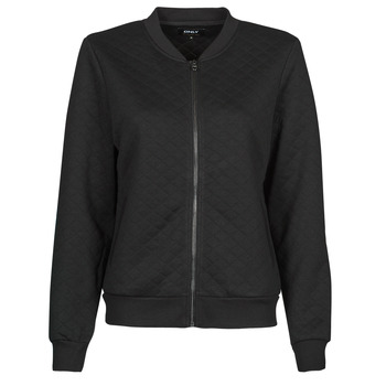 textil Dam Sweatshirts Only ONLJOYCE Svart