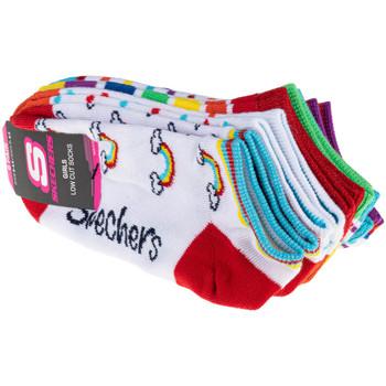 Accessoarer Barn Strumpor Skechers 6pk Girls No Terry Multicolore