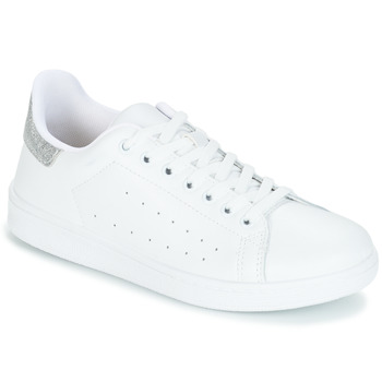 Skor Dam Sneakers Yurban SATURNA Vit / Silver