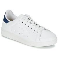Skor Herr Sneakers Yurban SATURNA Vit / Marin