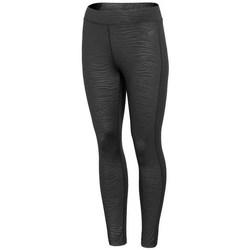 textil Dam Leggings 4F LEG016 Svarta