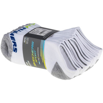 Accessoarer Barn Strumpor Skechers Boys 6pk No Show Socks Blanc