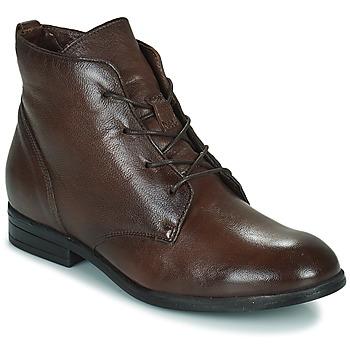 Skor Dam Boots Dream in Green NERGLISSE Brun