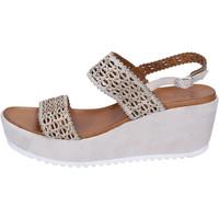 Skor Dam Sandaler Femme Plus BJ892 Beige