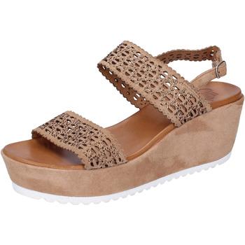 Skor Dam Sandaler Femme Plus BJ895 Brun