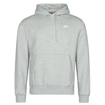textil Herr Sweatshirts Nike NIKE SPORTSWEAR CLUB FLEECE Grå / Vit