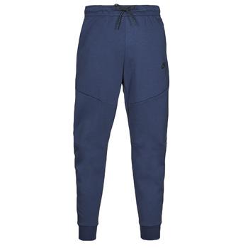 textil Herr Joggingbyxor Nike NIKE SPORTSWEAR TECH FLEECE Marin / Svart