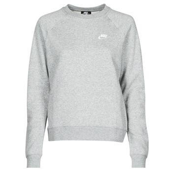 textil Dam Sweatshirts Nike NIKE SPORTSWEAR ESSENTIAL Grå / Vit