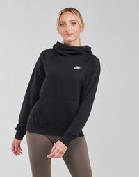 textil Dam Sweatshirts Nike NIKE SPORTSWEAR ESSENTIAL Svart / Vit