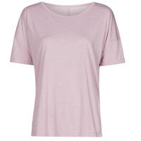 textil Dam T-shirts Nike NIKE YOGA Violett