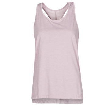 textil Dam Linnen / Ärmlösa T-shirts Nike NIKE YOGA Violett