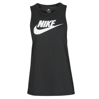 textil Dam Linnen / Ärmlösa T-shirts Nike NIKE SPORTSWEAR Svart / Vit