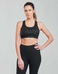 textil Dam Sport-BH Nike W NP DF SWSH LEPARD SHINE BRA Svart