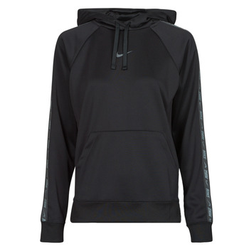 textil Dam Sweatshirts Nike W NSW PK TAPE PO HOODIE Svart