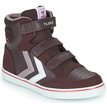 Skor Flickor Höga sneakers Hummel STADIL PRO JR Bordeaux