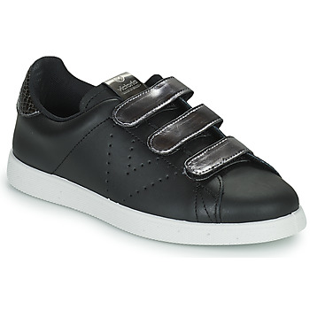 Skor Dam Sneakers Victoria HUELLAS  TIRAS Svart