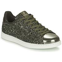 Skor Dam Sneakers Victoria TENIS GLITTER Svart / Silver