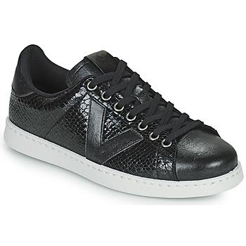 Skor Dam Sneakers Victoria TENIS SERPIENTE Svart