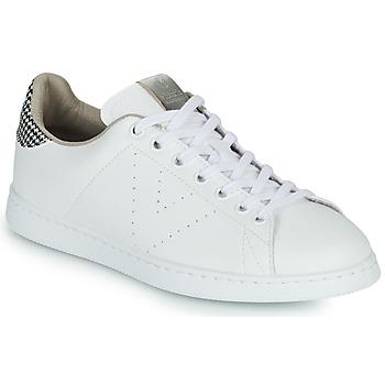 Skor Dam Sneakers Victoria TENIS VEGANA/ GALES Vit / Grå