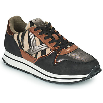 Skor Dam Sneakers Victoria COMETA MULTI Svart / Brun