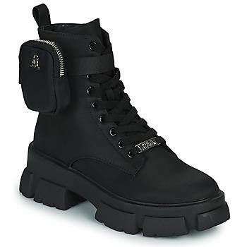 Skor Dam Boots Steve Madden TANKER-P Svart