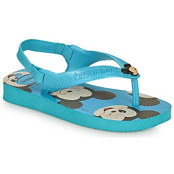 Skor Pojkar Flip-flops Havaianas BABY DISNEY CLASSICS II Blå