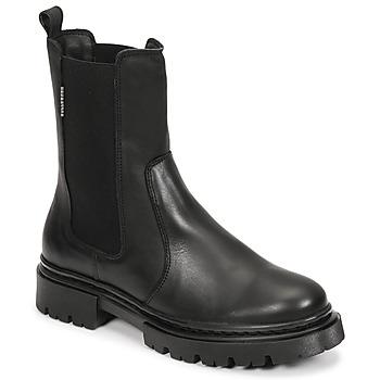 Skor Dam Boots Bullboxer 610507E6L_BLCK Svart