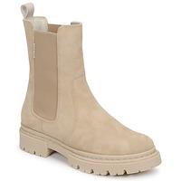 Skor Dam Boots Bullboxer 610507E6CAALMD Beige