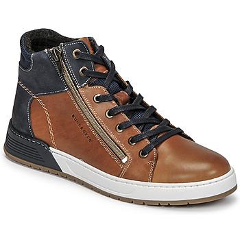 Skor Pojkar Sneakers Bullboxer AOF506COGN Brun / Marin