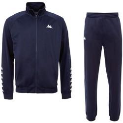 textil Herr Sportoverall Kappa Till Training Suit Bleu marine