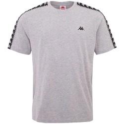 textil Herr T-shirts Kappa Ilyas T-Shirt Grise
