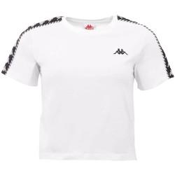 textil Dam T-shirts Kappa Inula T-Shirt Blanc