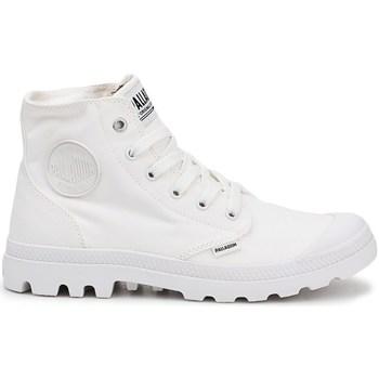 Skor Herr Höga sneakers Palladium Manufacture Pampa HI Vit