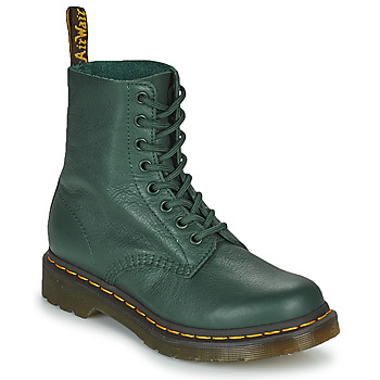 Skor Dam Boots Dr Martens 1460 PASCAL Grön