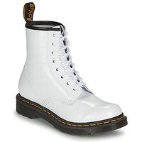 Skor Dam Boots Dr Martens 1460 W Vit