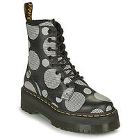 Skor Dam Boots Dr Martens JADON Vit / Grå