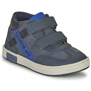 Skor Pojkar Höga sneakers Chicco CORFU Marin