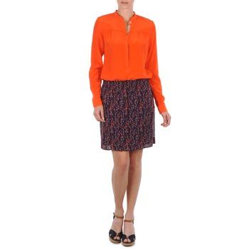 textil Dam kjolar Marc O'Polo AURELIA Marin / Röd